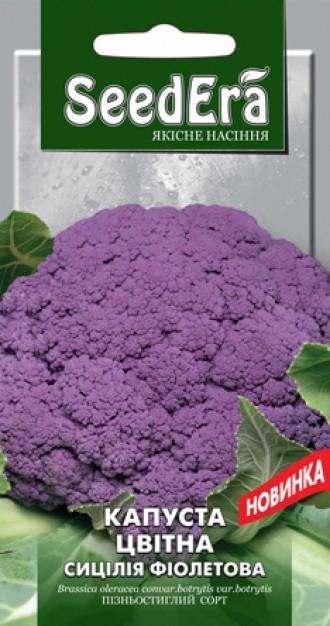 Капуста цвітна Сицілія фіолетова