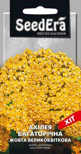 Ахилея многолетняя Желтая крупноцветковая