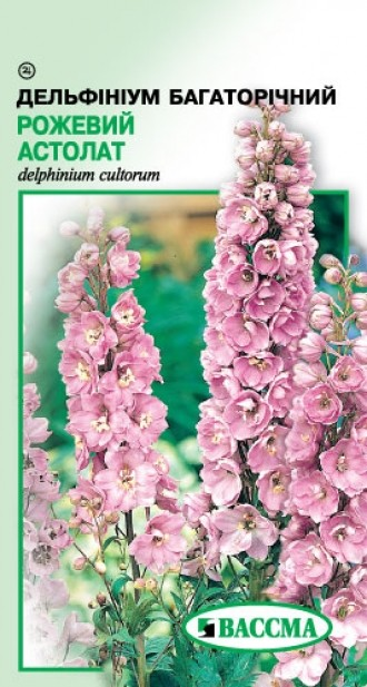 Дельфиниум многолетний Розовый Астолат