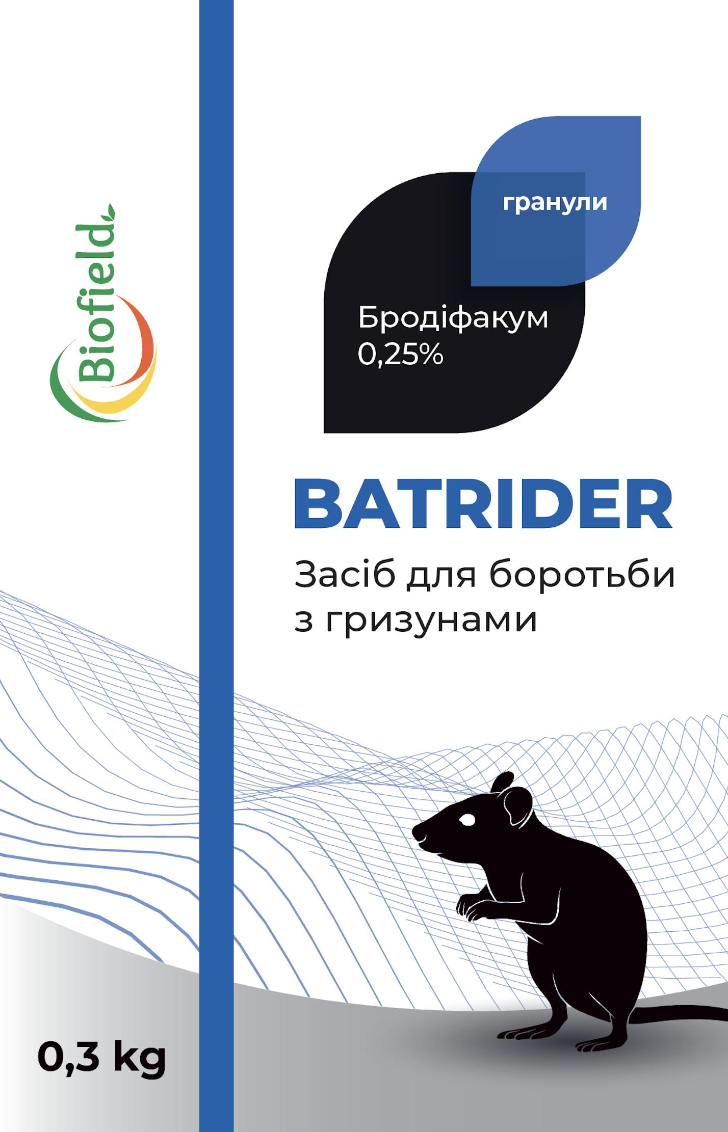 Батрайдер отрута від мишей ( гранули )