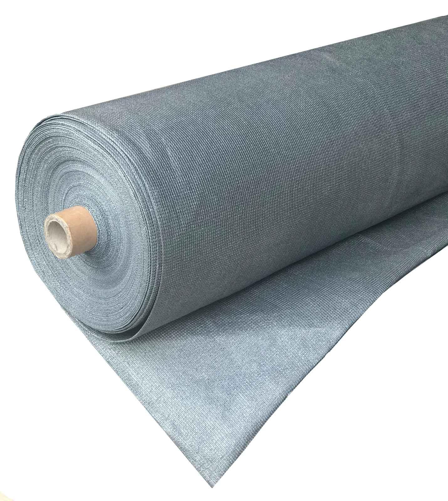 Сітка затінююча 4м*50м (200м2) 95% 140г/м2 срібло Biotol Туреччина